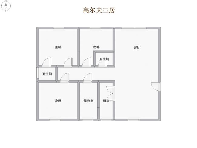 临湖三居 观景房_10